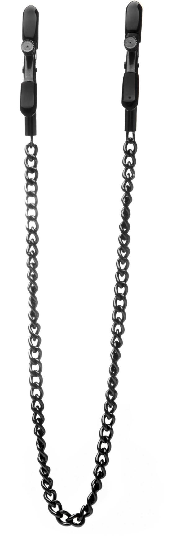 לוחצי פטמה עם שרשרת